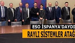 Eskişehir Sanayi Odası'ndan İspanya'ya Raylı Sistemler Çıkarması