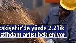 Eskişehir'de yüzde 2,2'lik istihdam artışı bekleniyor