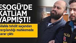 """ESOGÜ cinayetleri sanıklarının """"silahlı tehdit"""" davasında karar"""