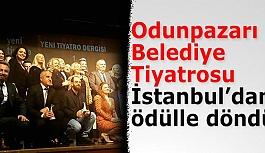 Odunpazarı Belediye Tiyatrosu'na emek ödülü