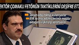"""AÜ Rektörü Çomaklı, FETÖ'nün """"tavşan aday"""" taktiğini anlattı:"""