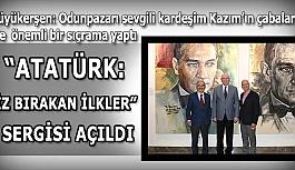"""""""ATATÜRK: İZ BIRAKAN İLKLER"""" SERGİSİ AÇILDI"""
