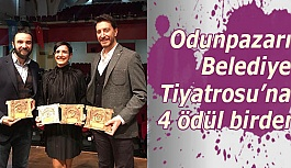 Odunpazarı Belediye Tiyatrosu'na 4 ödül birden