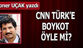 CNN TÜRK'E BOYKOT ÖYLE Mİ?