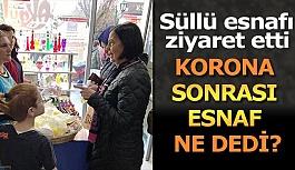 CORONA SONRASI ESNAF ZİYARETİ