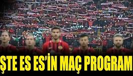 Eskişehirspor'un 4 haftalık maç programı belli oldu
