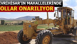 SİVRİHİSAR'IN MAHALLELERİNDE YOLLAR ONARILIYOR