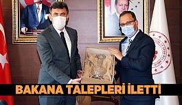 AK Partili Çalışkan, Spor Bakanı Kasapoğlu ile görüştü