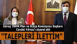 AK Parti Milletvekili Günay: Çözüm üretmeye çalışıyoruz