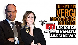 TÜRKİYE'NİN VERGİ REKORTMENLERİ BELLİ OLDU