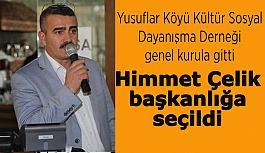 Yusuflar Köyü Derneği yeni başkanını...