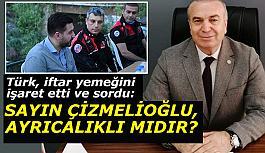 İYİ Parti Tepebaşı İlçe Başkanı İsmail Türk: Sayın Çizmelioğlu, ayrıcalıklı mıdır?