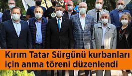 Kırım Tatar Sürgünü kurbanları için anma töreni düzenlendi