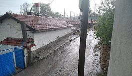 Seyitgazi köylüleri yağmura çok sevindi