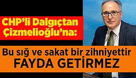 AK Partili Çizmelioğlu'na Dalgıç'tan çok sert yanıt