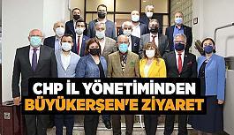 CHP İl Yönetiminden  Başkan Büyükerşen'e ziyaret