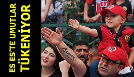 Eskişehirspor adım adım kapanmaya ilerliyor