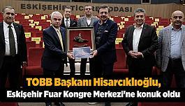 Hisarcıklıoğlu'ndan Güler'e EFKM için teşekkür
