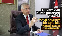 AK Partili Acar, Kurt'a seçim öncesi verdiği sözleri hatırlattı