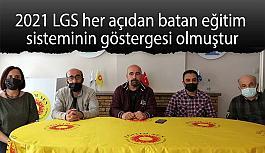 Alkan:  Eskişehir'de LGS 2020'ye katılım %88, 2021 de  ise %83'te kalmıştır.