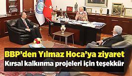 Büyük Birlik Partisi'nden Başkan Büyükerşen'e ziyaret