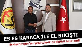 Eskişehirspor'un yeni teknik direktörü belirlendi