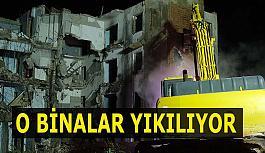İmar planına göre yıkımlar devam ediyor