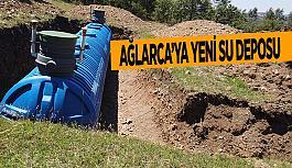 Ağlarca'ya yeni su deposu