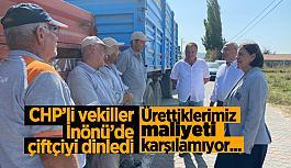 "CHP: ""Çiftçilerin milyarlarca lira alacağı var"""