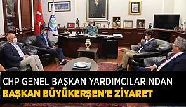 CHP Genel Başkan Yardımcılarından  Başkan Büyükerşen'e ziyaret