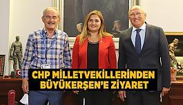 CHP milletvekillerinden Büyükerşen'e ziyaret