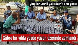 CHP'li Çakırözer Çifteler'de vatandaşı dinledi