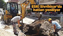 ESKİ Sivrihisar Nasrettin Hoca Caddesi'nin sorununu çözüyor