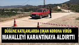 Eskişehir'deki düğüne katılan 16 kişide korona tespit edildi