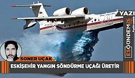 Eskişehir sanayicisi  yangın söndürme uçağı üretir