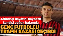 Eskişehirsporlu Selman trafik kazası geçirdi!
