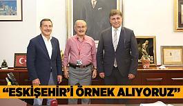 Karşıyaka Belediye Başkanı'ndan Büyükerşen'e ziyaret