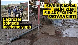Sivrihisar'da sel bilançosu gün yüzüne çıktı