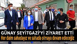 AK Parti Milletvekili: Her daim sahadayız ve sahada olmaya devam edeceğiz