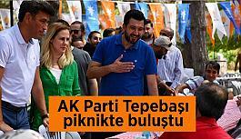 AK Parti Tepebaşı Teşkilatı piknikte buluştu