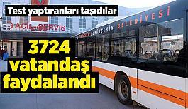 Bulaş riskini azaltmak için hizmet veren otobüslere vatandaştan tam not