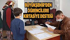 Eskişehir Büyükşehir Belediyesi ilçelerdeki öğrencilere kırtasiye malzemesi desteğine başladı