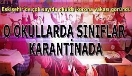 Eskişehir'deki okullarda korona vakası