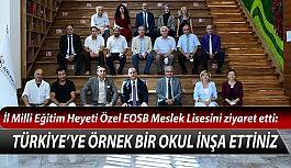 Küpeli: Ülkemizin ve Eskişehir'in en seçkin okulu