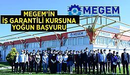 MEGEM'in iş garantili kursuna yoğun başvuru