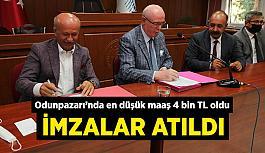 Odunpazarı Belediyesi'nde en düşük maaş 4 bin TL oldu