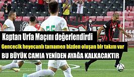 Sezgin Coşkun'dan Urfa maçı sonrası açıklama