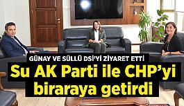 Su AK Parti ile CHP'yi bir araya getirdi