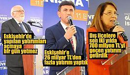 AK Parti'nin kurmayları yatırımları anlattı