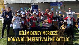 Bilim Deney Merkezi  Konya Bilim Festivali'ne katıldı